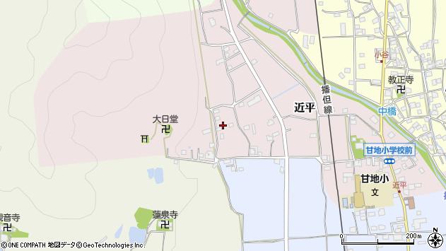 〒679-2327 兵庫県神崎郡市川町近平の地図
