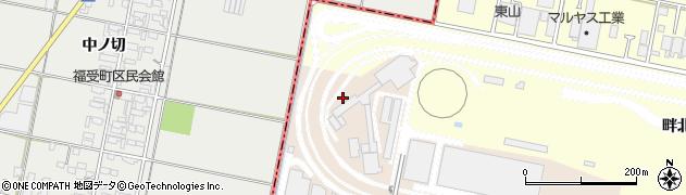 愛知県岡崎市橋目町(新開)周辺の地図