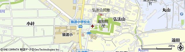 弘常屋周辺の地図