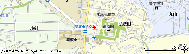 末泰予約受付周辺の地図