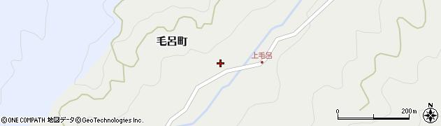 愛知県岡崎市毛呂町(仲田)周辺の地図