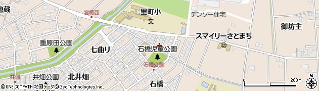 愛知県安城市里町(足取)周辺の地図