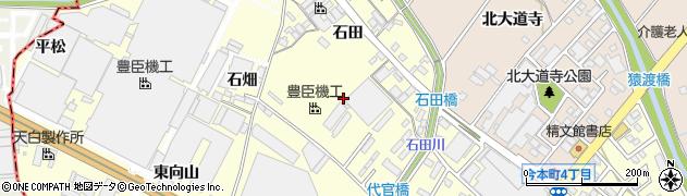 愛知県安城市今本町周辺の地図