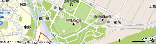 愛知県豊田市畝部東町(辻)周辺の地図