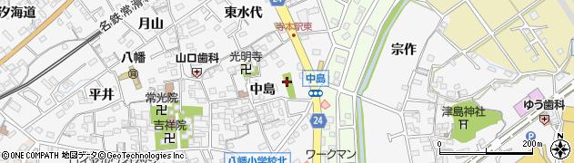 天白社周辺の地図