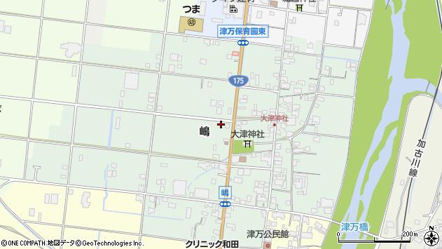 〒677-0024 兵庫県西脇市嶋の地図