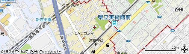 普済寺周辺の地図