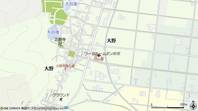 〒677-0025 兵庫県西脇市大野の地図