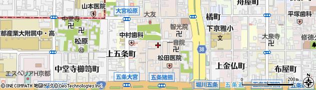 智了院周辺の地図