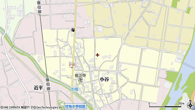 〒679-2322 兵庫県神崎郡市川町小谷の地図