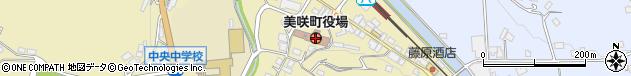岡山県久米郡美咲町周辺の地図