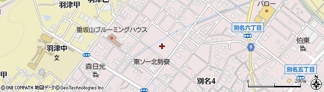 東ソー社宅周辺の地図