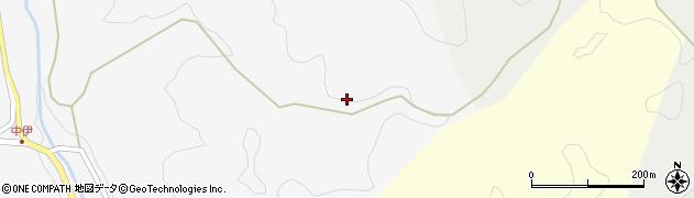 愛知県岡崎市中伊町(牛ノ田)周辺の地図