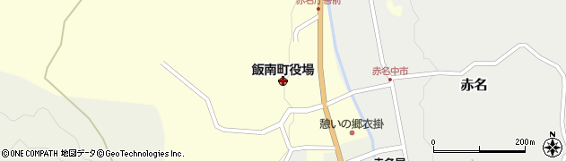 島根県飯石郡飯南町周辺の地図