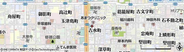 京都府京都市下京区俊成町周辺の地図