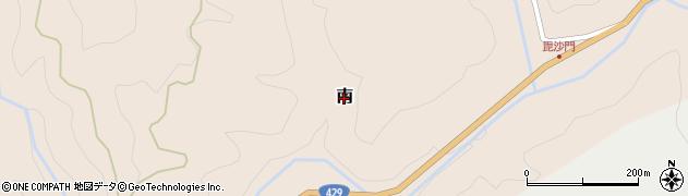 岡山県美咲町(久米郡)南周辺の地図