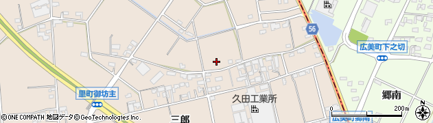 愛知県安城市里町(三郎)周辺の地図