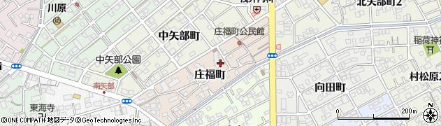 静岡県静岡市清水区庄福町周辺の地図