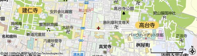 京都府京都市東山区南町周辺の地図