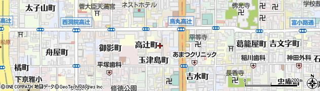 京都府京都市下京区小島町周辺の地図