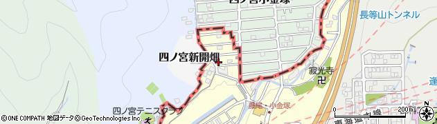 滋賀県大津市藤尾奥町周辺の地図