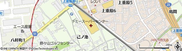 株式会社たつみ 知立店周辺の地図