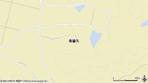 〒679-5213 兵庫県佐用郡佐用町東徳久の地図