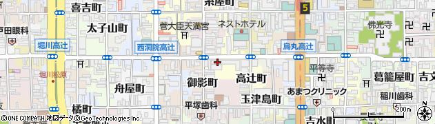 京都府京都市下京区繁昌町周辺の地図