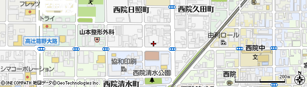 サーパスシティ西院日照町サニースクエア周辺の地図