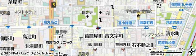 京都府京都市下京区泉正寺町周辺の地図
