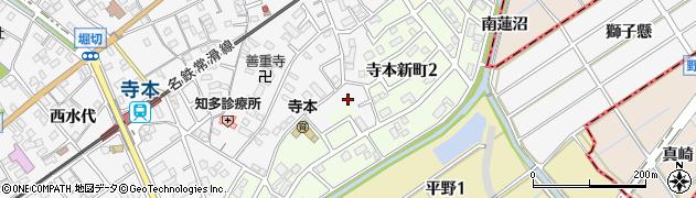 愛知県知多市八幡(下内橋)周辺の地図