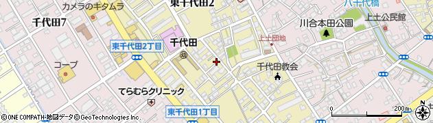 静岡県静岡市葵区東千代田周辺の地図