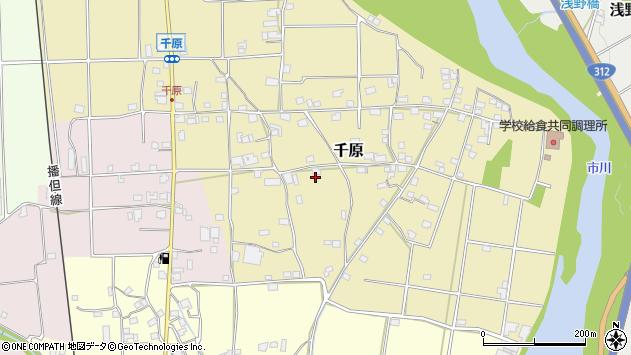 〒679-2321 兵庫県神崎郡市川町千原の地図