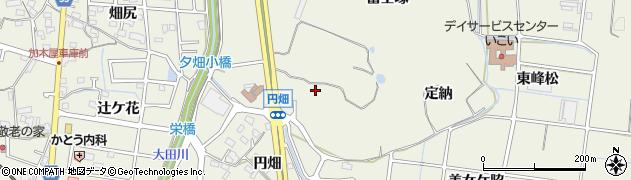 愛知県東海市加木屋町(夕霞松)周辺の地図