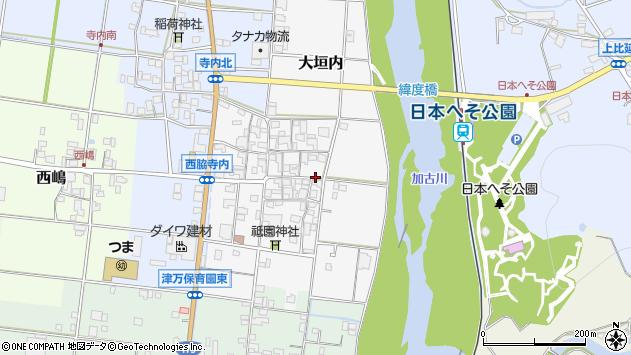 〒677-0038 兵庫県西脇市大垣内の地図