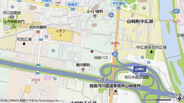 〒671-2575 兵庫県宍粟市山崎町山田の地図