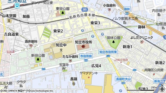 〒472-0000 愛知県知立市(以下に掲載がない場合)の地図