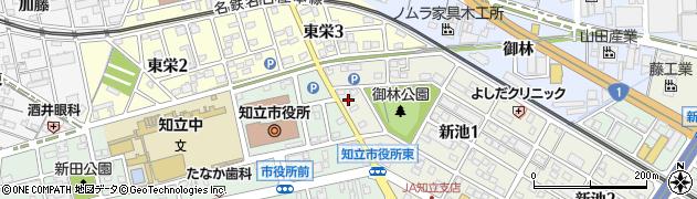 ダイニングキッチンぴュあ周辺の地図