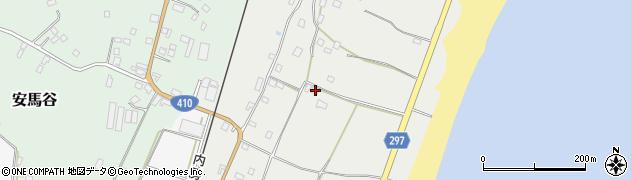 千葉県南房総市白子周辺の地図