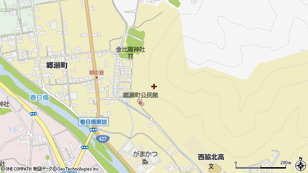 〒677-0014 兵庫県西脇市郷瀬町の地図