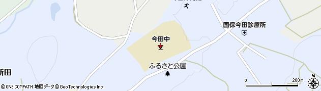 丹波篠山市立今田中学校周辺の地図