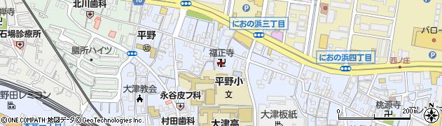 福正寺周辺の地図