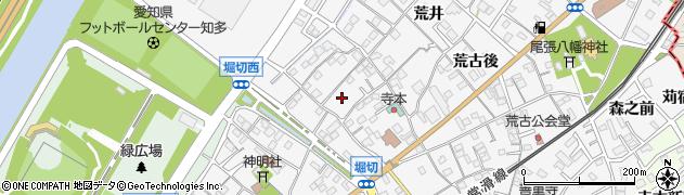 愛知県知多市八幡(堀切)周辺の地図