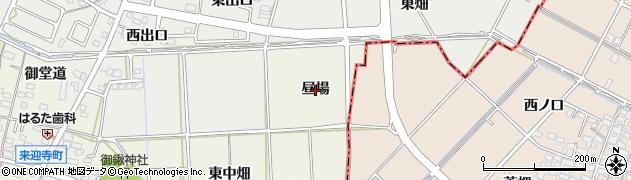 愛知県知立市来迎寺町(昼場)周辺の地図