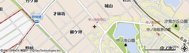 愛知県東海市高横須賀町(柳ケ坪)周辺の地図