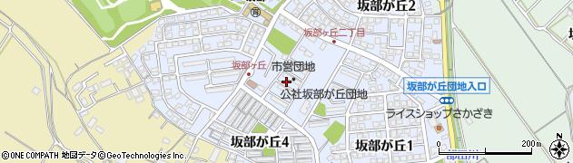 三重県四日市市坂部が丘周辺の地図