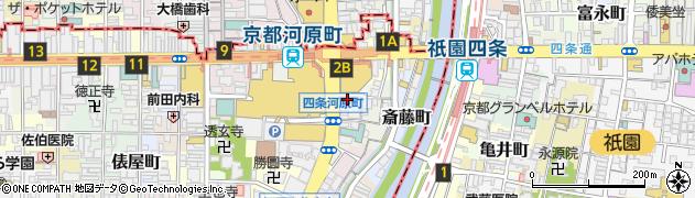 京都府京都市下京区順風町周辺の地図