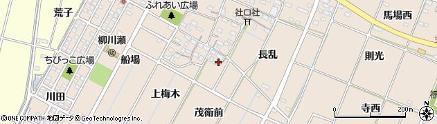 愛知県豊田市畝部東町(茂衛前)周辺の地図