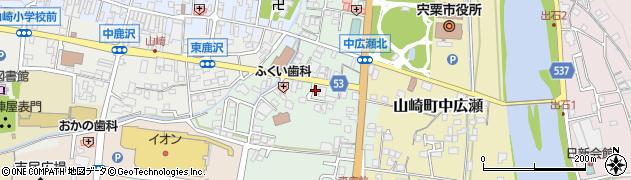 明光義塾山崎教室周辺の地図