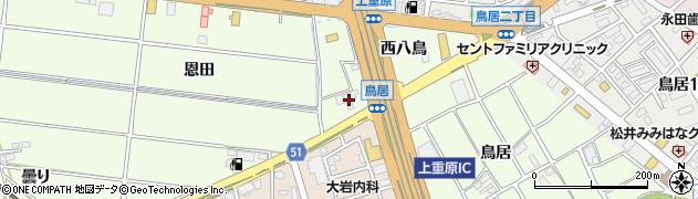 闘牛周辺の地図